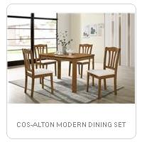 COS-ALTON MODERN DINING SET